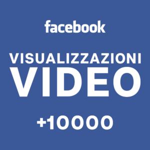 +10000 Visualizzazioni video