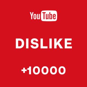 +10000 DisLike Youtube