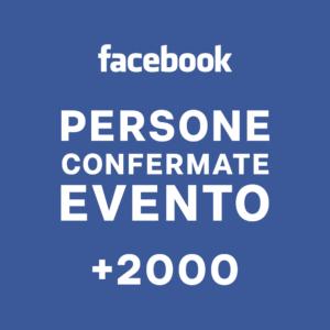 +2000 Persone Interessate Evento