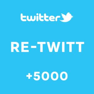 +5000 Re-Twitt