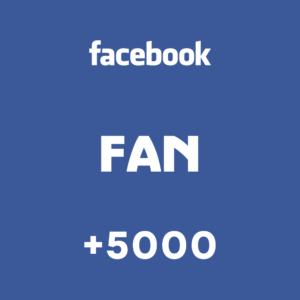 +5000 Fan Facebook