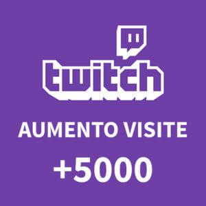 +5000 Aumento visite