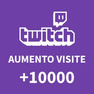 +10000 Aumento visite