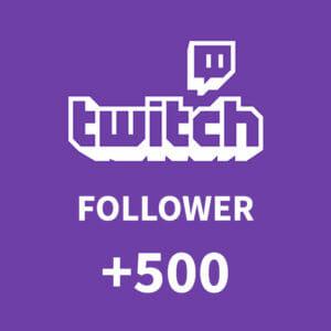 500 Follower