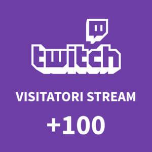 +100 visitatori sullo stream