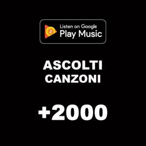 +2000 Ascolti Canzoni Google Music